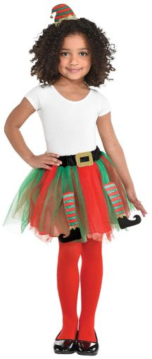 Christmas Elf Tutu/Headband Kit - Child