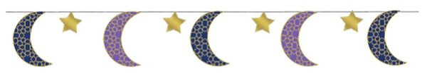 Eid Celebration String Decorations, 6ct