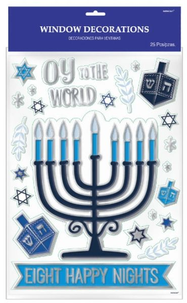 Hanukkah Window Decoration