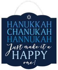 Happy Hanukkah Sign