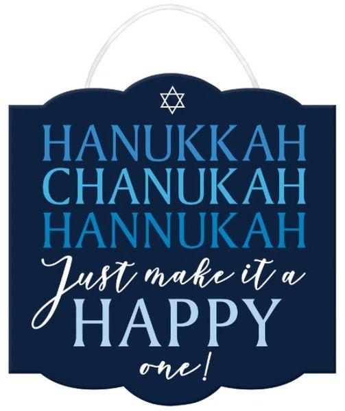 Happy Hanukkah Sign