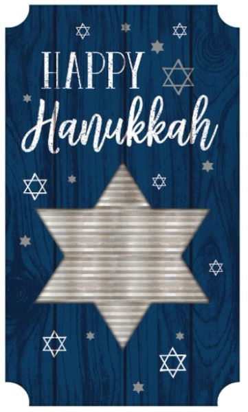 Happy Hanukkah Large Sign
