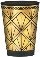 Glitz & Glam Hot-Stamped Plastic Printed Tumbler, 10oz - 20ct