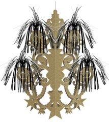 Glitz & Glam Firework Chandelier Decoration