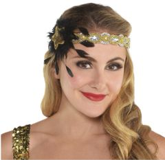 Glitz & Glam Sequined Headband