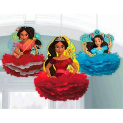 ©Disney Elena of Avalor Fluffy Decorations
