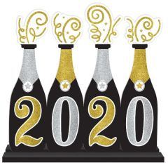 2020 Bubbly Bottle Standing Sign