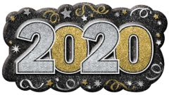 2020 Vac Form Sign - Black, Silver, Gold