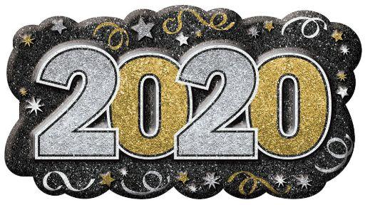 2020 Vac Form Sign - Black, Silver, Gold