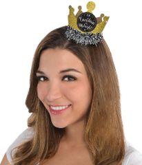 Happy New Year Mini Crown - Gold