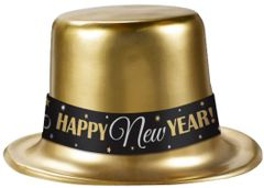 Happy New Year Top Hats - Gold