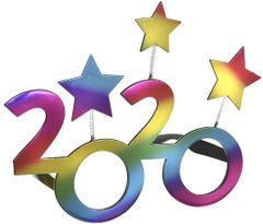 """2020"" Star Glasses - Dark Iridescent"