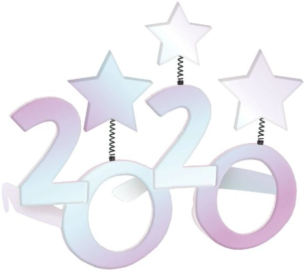 """2020"" Star Glasses - Iridescent"