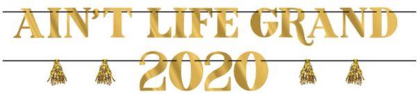 2020 Aint Life Grand Letter Banner Kit, 2ct