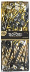 Deluxe Blowouts Multipack - Black, Gold, And Silver, 24ct