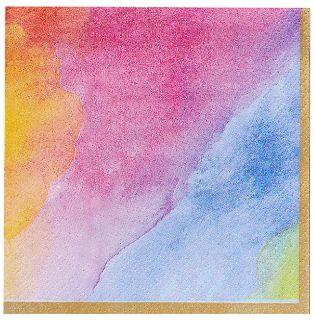 Rainbow Dream Beverage Napkins, 16ct