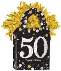 Mini Tote Balloon Weight - Sparkling Celebration 50
