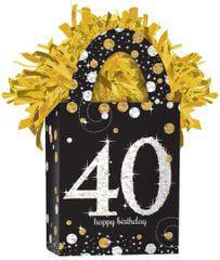 Mini Tote Balloon Weight - Sparkling Celebration 40
