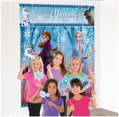 ©Disney Frozen 2 Scene Setter with Props, 17pcs