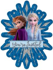 ©Disney Frozen 2 Jumbo Deluxe Invites, 8ct