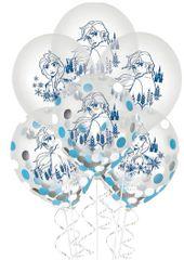 ©Disney Frozen 2 Latex Confetti Balloons, 6ct