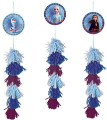 ©Disney Frozen 2 Dangle Decoration Value Pack, 3ct