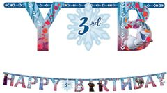 ©Disney Frozen 2 Jumbo Add-An-Age Letter Banner, 10 1/2ft
