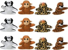 Mini Plush Animals Prize Pack 12ct