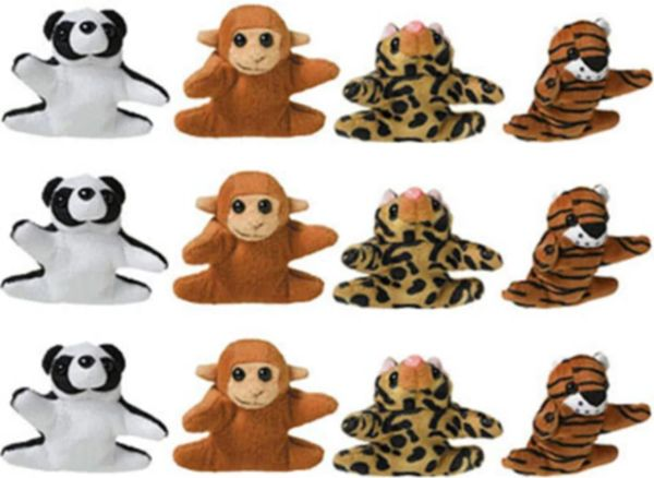 Mini Plush Animals Prize Pack, 12ct