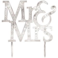 """Mr & Mrs"" Wedding Cake Topper"