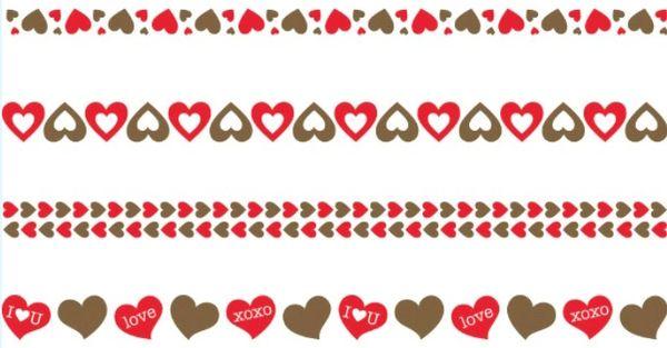 Valentine Tattoo Bracelets, 8ct