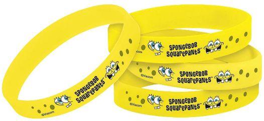 SpongeBob Wristbands, 4ct