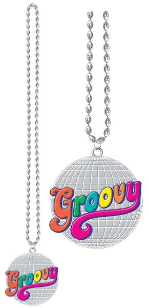 Good Vibes Party Bead Necklace