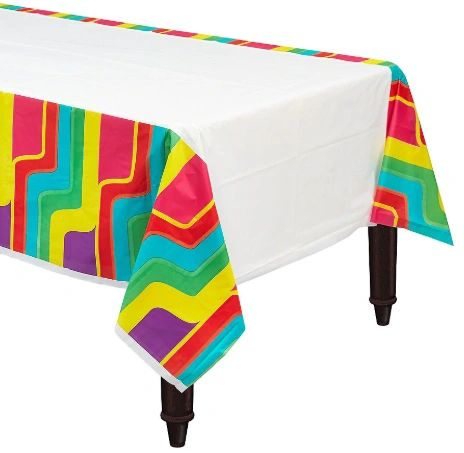 Good Vibes Plastic Table Cover