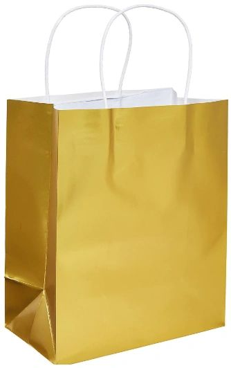 Medium Paper Bag - Gold Foil