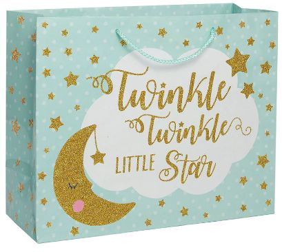 Large Gift Bag Vogue - Twinkle Little Star