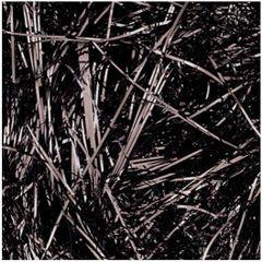 Black Shimmering Metallic Strands