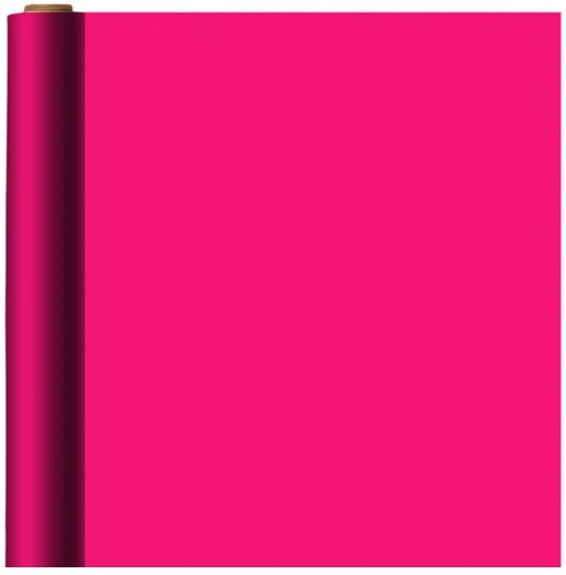 Jumbo Bright Pink Solid Gift Wrap, 16ft