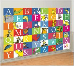 Dr. Seuss Alphabet 3 Panel Scene Setters®