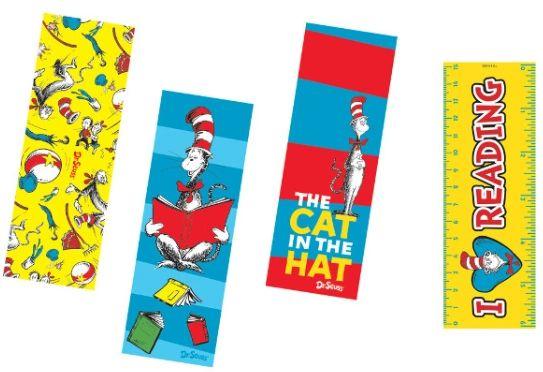 Dr. Seuss Bookmarks, 12ct