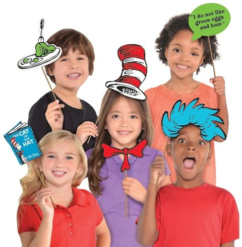 Dr. Seuss Photo Prop Kit, 13ct