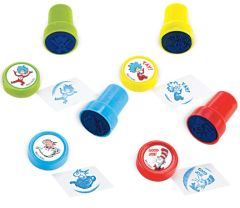 Cat In The Hat Stamps, 6ct