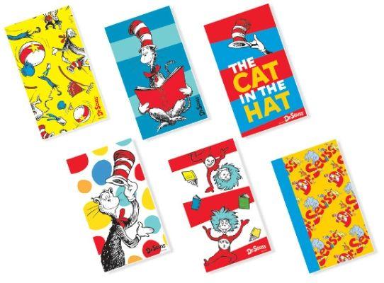 Dr. Seuss Notepads, 12ct