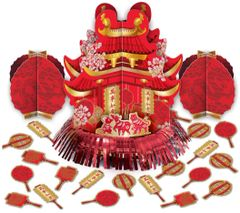 Chinese New Year Table Decorating Kit, 23pc