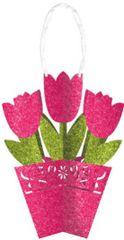 3-D Tulip Hanging Decoration
