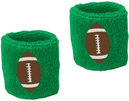 Football Sweat Bands, 2ct