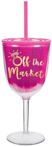 """""""Off the Market"""" Wine Sippy Cup"""