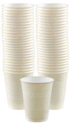 Vanilla Creme Big Party Pack Plastic Cups, 16 oz.