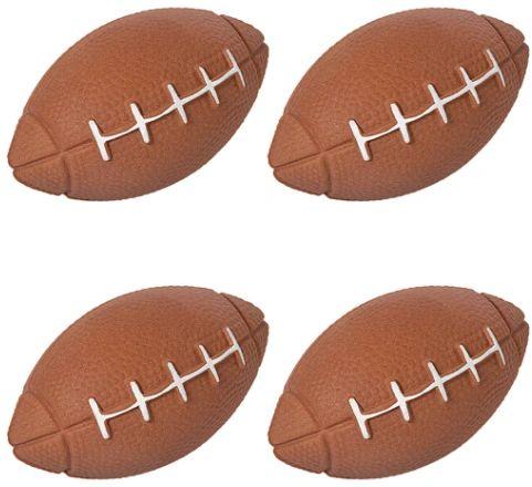 Sponge Footballs, 4ct