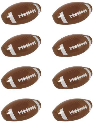 Mini Inflatable Football, 8ct